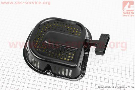 Стартер ручной в сборе 168F/170F Тип №4 для мотоблока