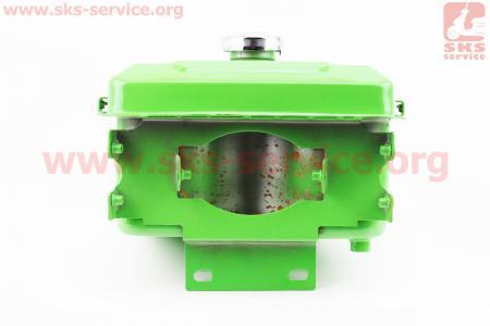 Бак топливный для мотоблока R175A/R180NM, 260x190x165мм, выст. горловина, отверстие под шланг топливный + крышка