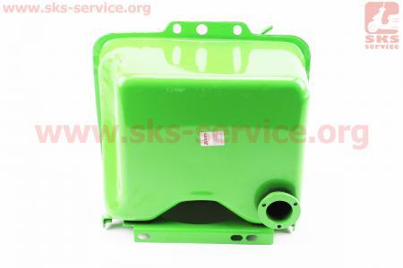 Бак топливный для мотоблока R190N, 270x220x165мм, потайная горловина, отверстие под кран топливный + кришка