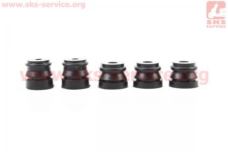 Амортизатор  к-кт 5шт+заглушки+болты для китайских бензопил 4500/5200