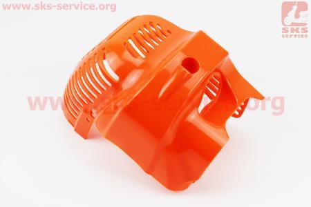 Крышка двигателя мотокосы верхняя (цилиндра)