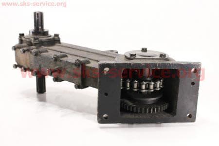 Фреза - Редуктор в сборе R175/180N/190N/195NM (81-1) З/ч на НАВЕСНОЕ оборудование к мотоблокам с двигателем R175N(NM)/R195N(NM)