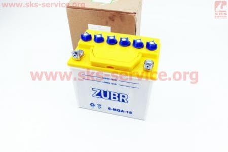 Аккумулятор 18Аh 6-MQA-18 (кислотный сухой) 175/125/185мм Разные товары к мотоблокам