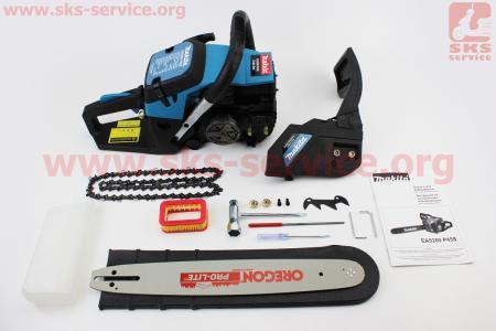 """Бензопила Makita EA 5200 P45S 52cc (3,6кВт, шина 16"""", цепь 325-1,5-64зв. квад. зуб), с подкачкой, плавный пуск, крышка стар. - металл"""