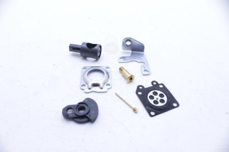 Ремонтный комплект карбюратора 6 деталей +заслонка+подкачка для мотокосы Expert BC-330