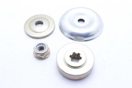Ремонтный комплект нижнено редуктора (гайка, шайба, фланцы) для мотокосы Expert BC-330