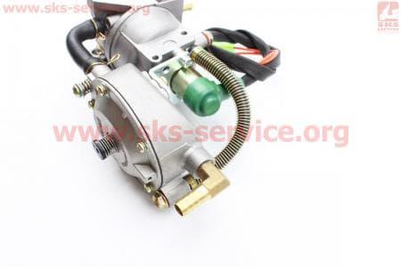 Газовый карбюратор LPG (пропан-бутан) для генераторов 4-6кВт (механизм рычажный)Запчасти к мото-ГЕНЕРАТОРАМ