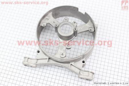 Крышка генератора задняя 2-3,5кВт Тип №2 Запчасти к мото-ГЕНЕРАТОРАМ