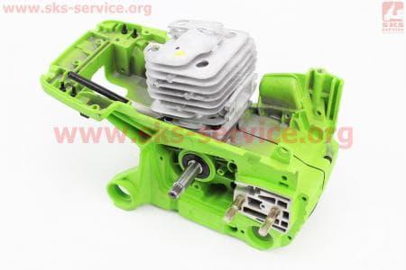 Блок двигателя в сборе для  китайских бензопил58cc 45,20мм