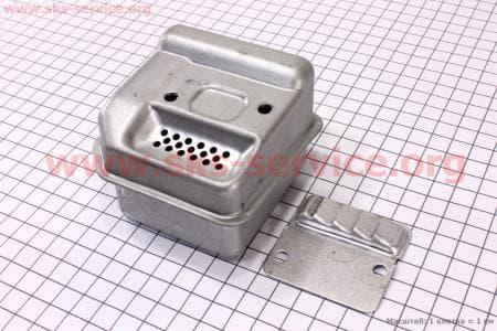 Глушитель в сборе MS-170/180 Запчасти к бензопиле STIHL-180
