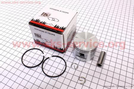 Поршень, палец, кольца, к-кт MS-230 40мм (палец 10мм)   Запчасти к бензопиле STIHL-180