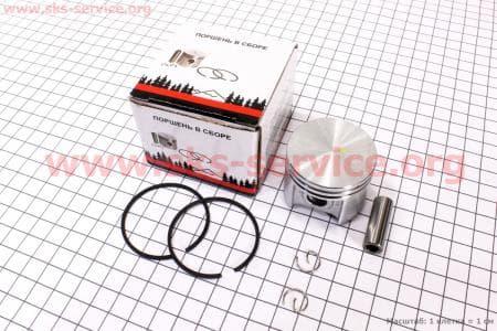 Поршень, палец, кольца, к-кт MS-250 42,5мм (палец 10мм)   Запчасти к бензопиле STIHL-180