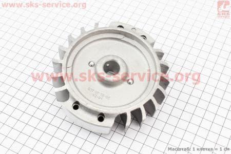 Ротор магнето в сборе к бензопиле HUSQWARNA 362/365/372
