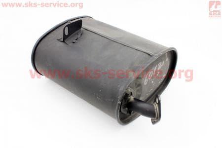 Глушитель (генератора 2-3,5кВт) 168F З/ч на двигатель мотоблок бензновый 168F-6,5л.с.