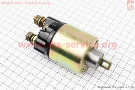 Втягивающие электростартера Тип №2 З/ч на двигатель мотоблок дизельный F178/ F186 - 6/9 л.с.