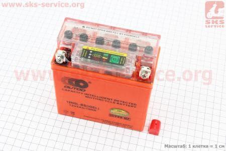 Аккумулятор 5Аh YTX5AL-BS (гелевый, оранж) Active 120/60/130мм с ИНДИКАТОРОМ, 2017