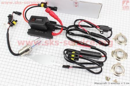 Ксенон XENON БИ к-кт на одну лампу H6 AC 8000K компакт