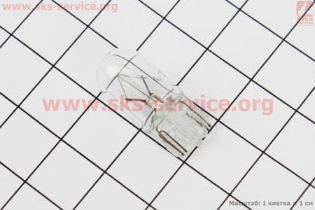 Лампа поворота (белая без цоколя) 12V/3W T10