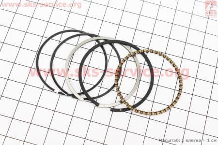 Кольца поршневые 40мм HONDA GX35 (CG438) - 4Т З/ч к ТРИММЕРАМ (мотокосам) 4Т