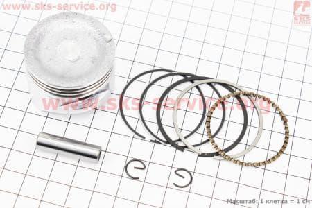 Поршень, кольца, палец к-кт 40мм HONDA GX35 (CG438) - 4Т  З/ч к ТРИММЕРАМ (мотокосам) 4Т