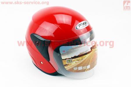 Шлем открытый HF-200 S-КРАСНЫЙ