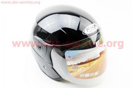Шлем открытый HF-200 S-ЧЕРНЫЙ