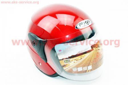 Шлем открытый HF-200 M-КРАСНЫЙ