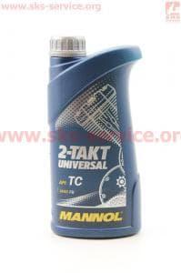 2T UNIVERSAL масло для 2-х такт. двигателей минеральное, 1л