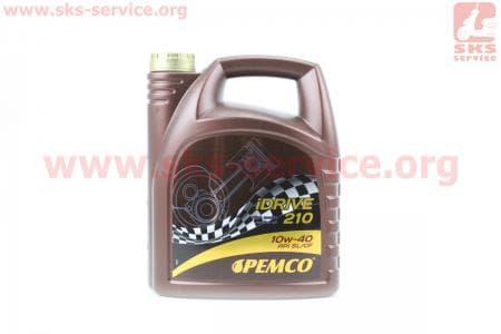 iDRIVE 210 10W-40 масло полусинтетическое, 4л