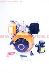 Двигатель мотоблочный в сборе 6 л.с. 178F (HT-105)