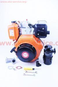 Двигатель мотоблочный в сборе 9 л.с. 186F (HT-135)