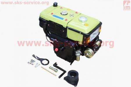 Двигатель мотоблочный в сборе + стартер 10л.с. ZUBR SH190NDL