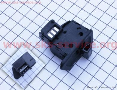 кнопка - поворотов (6 контактов) DIO/GY6