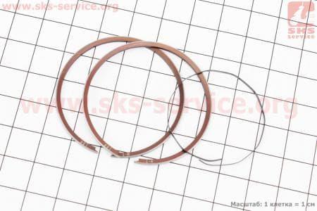 Кольца поршневые Suzuki AD50 41мм +1,00