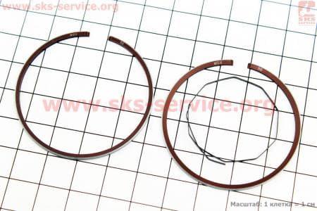 Кольца поршневые Yamaha JOG65 44мм + 0,50