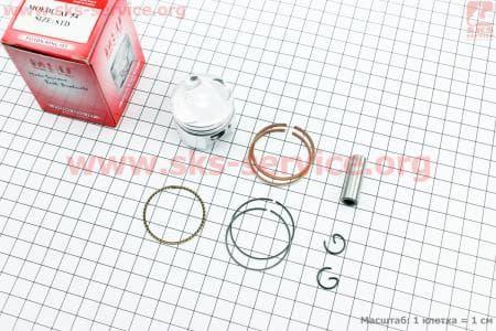 Поршень, кольца, палец к-кт Honda GIORNO CREA AF54 36мм STD (палец 10мм)