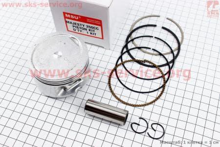 Поршень, кольца, палец к-кт Yamaha MAJESTY 250 69мм STD