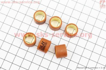 Ролики вариатора 6шт, Yamaha 15*12 - 3,5гр