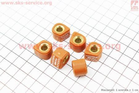 Ролики вариатора D-форма 6шт, 15*12 - 8гр, Тюнинг