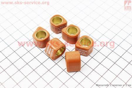 Ролики вариатора D-форма 6шт, 16*13 - 6гр, Тюнинг