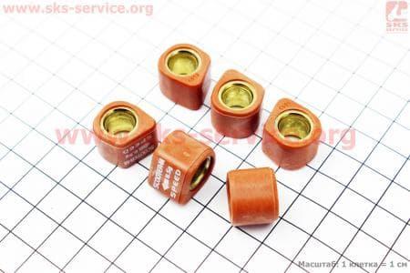 Ролики вариатора D-форма 6шт, 16*13 - 8.5гр, Тюнинг