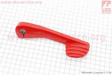 Рычаг кик-стартера TUNING GY6/DIO (красный)