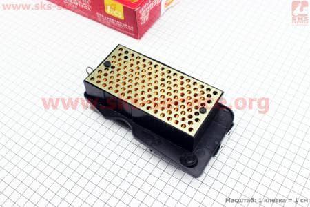 Фильтр-элемент воздушный (пластик)  WH125 / Honda SPACY125