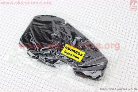 Фильтр-элемент воздушный (поролон) Suzuki AD Injection с пропиткой, черный
