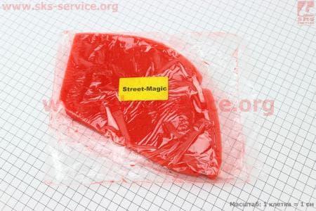 Фильтр-элемент воздушный (поролон) Suzuki Street Magic с пропиткой, красный