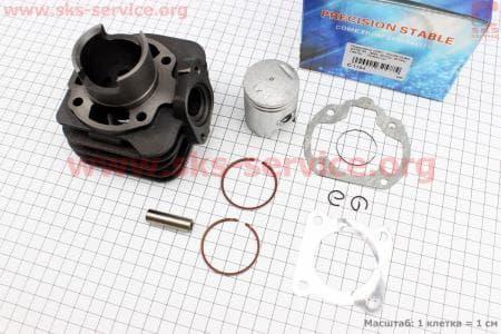 Цилиндр к-кт (цпг) Honda LEAD/GYRO 50сс-40мм