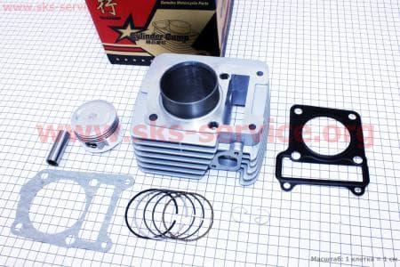 Цилиндр к-кт (цпг) Yamaha YBR125сс-54мм