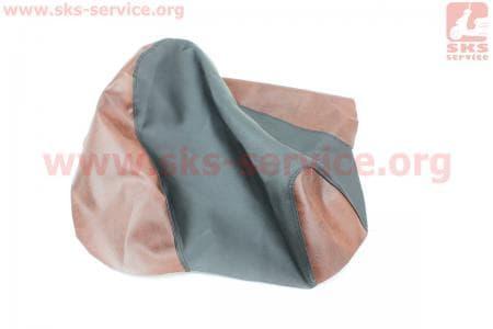 Чехол сидения Honda PAL AF-17 (эластичный, прочный материал) черный/коричневый