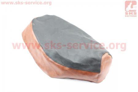 Чехол сидения Yamaha APRIO (эластичный, прочный материал) черный/коричневый