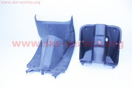 """Honda DIO AF-27/28 пластик - передний надколенный """"подгазетник"""" к-кт 2 детали"""